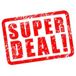 Super Deal! Button, Icon, Stempel