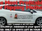 Tacoma Extreme Car Flip Business – 4 Evening Crash Course